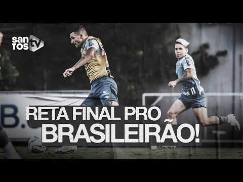 #SANTOS NA RETA FINAL PARA A VOLTA DO BRASILEIRÃO