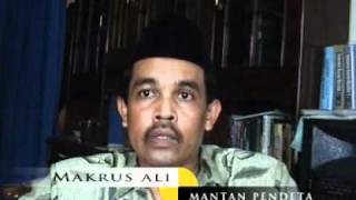 Mantan Pendeta moh Ali makrus masuk isla...