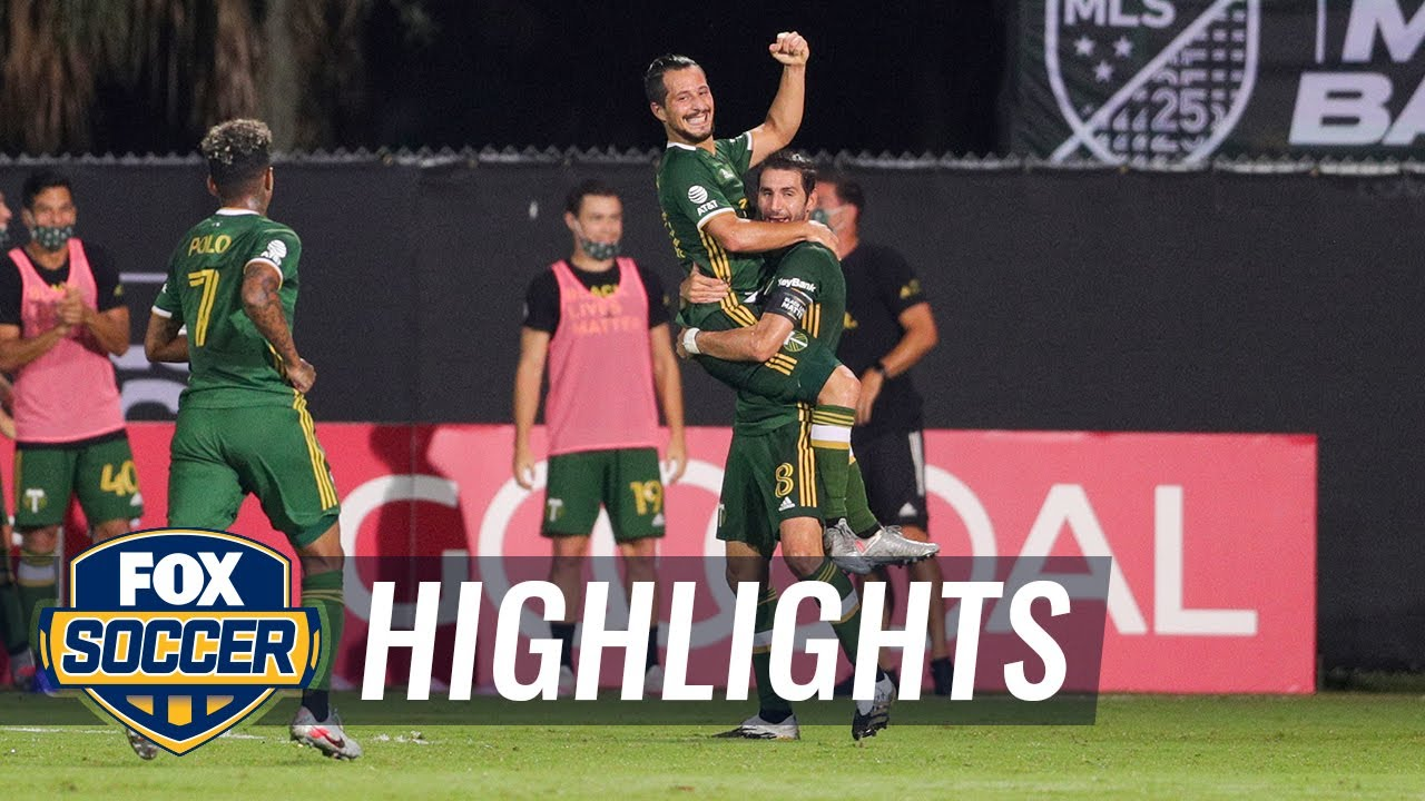 Timbers edge unlucky Union 2-1, head to MLS is Back Final | 2020 MLS Highlights
