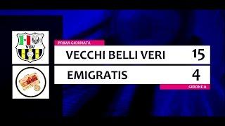 VECCHI BELLI VERI - EMIGRATIS  15 - 4 [Prima Giornata]