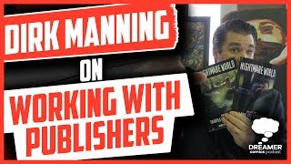 Dirk Manning on working with publishers and an independent creator