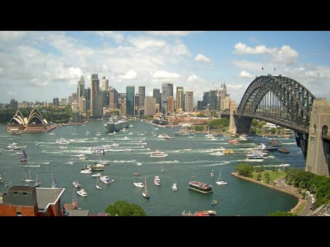 Australia Day Celebrations  On Sydney Harbour 2016