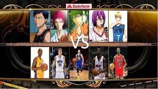 Kuroko's Basketball (Teiko vs NBA)