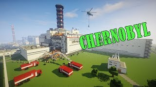 Minecraft Chernobyl disaster/Чернобыльская авария в майнкрафте