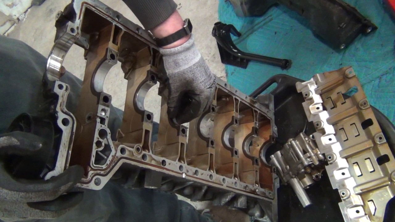 Crank Removal on N54