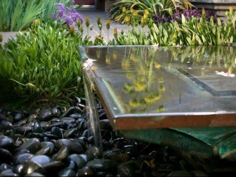 water features in garden