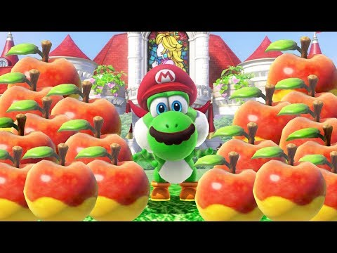 Super Mario Odyssey - All Yoshi Fruit Locations + Secret Yoshi Challenges