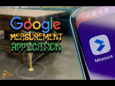 Google ARCore and Measure App Estimates Length and Height