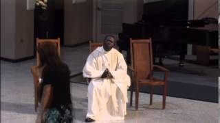 LA SANTA MISA DE CORPUS CHRISTI CATHOLIC CHURCH, MIAMI MAYO 31 DE 2015