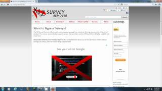 How to Remove Most Surveys
