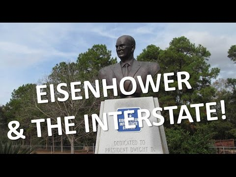 President Eisenhower & the Interstate Highway System