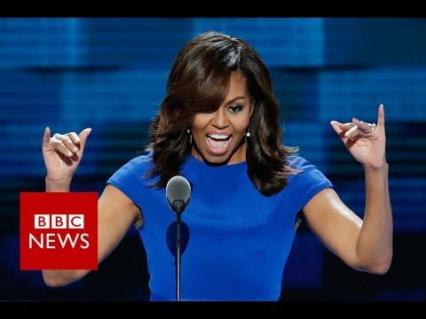 5 times Michelle Obama referred to Donald Trump - BBC News