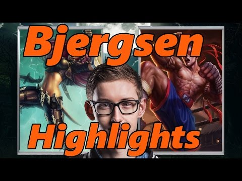 Bjergsen stream Highlights/ Kata/ lee/