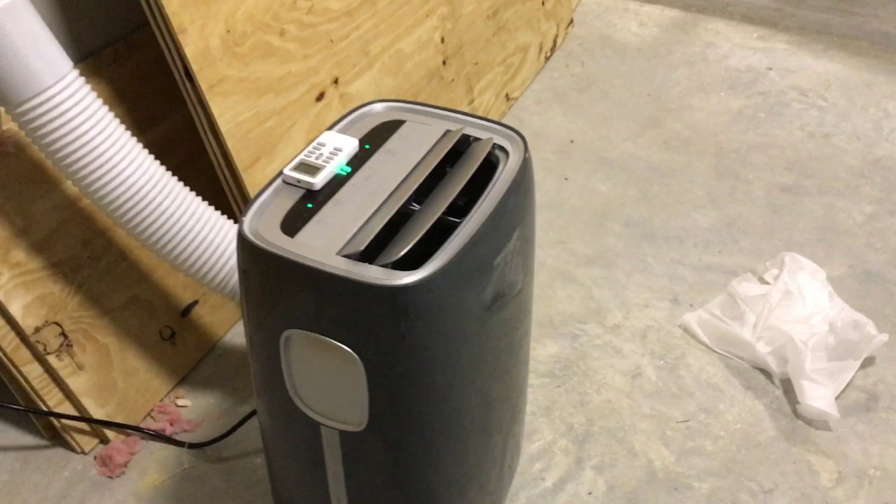 Frigidare 14,000 BTU Portable Air Conditioner Review With Smart Home Walk  Through