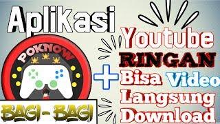 Download lagu Bagi-Bagi Aplikasi Youtube Ringan Bisa langsung Download