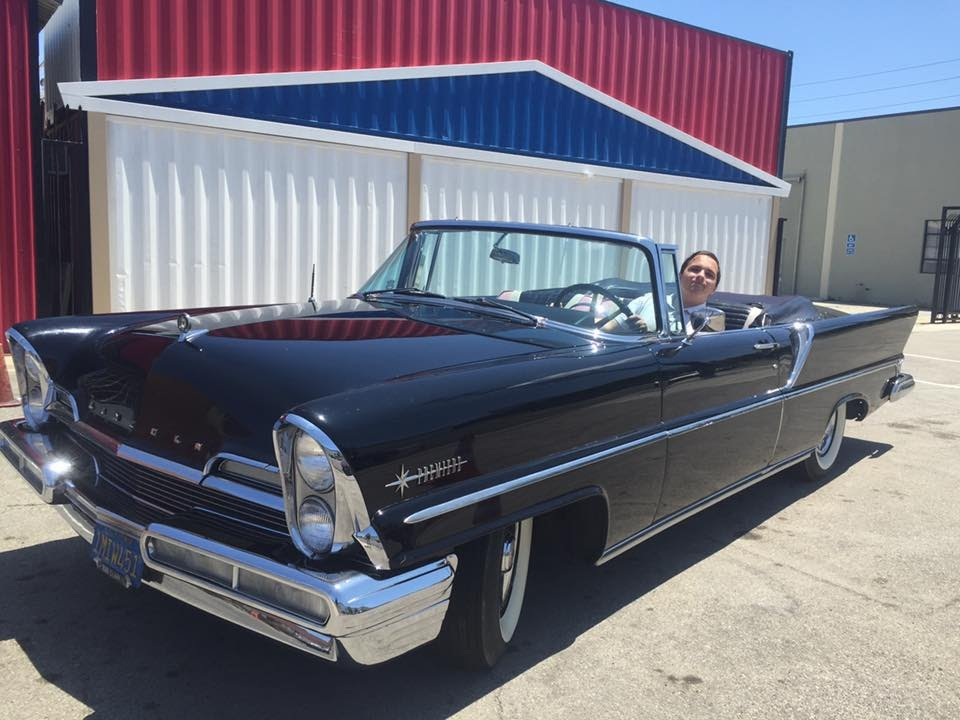 riding in a 1957 lincoln premiere convertible youtube. Black Bedroom Furniture Sets. Home Design Ideas