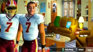 MADDEN 07 SUPERSTAR MODE // BOUGHT AN APARTMENT (PS2)