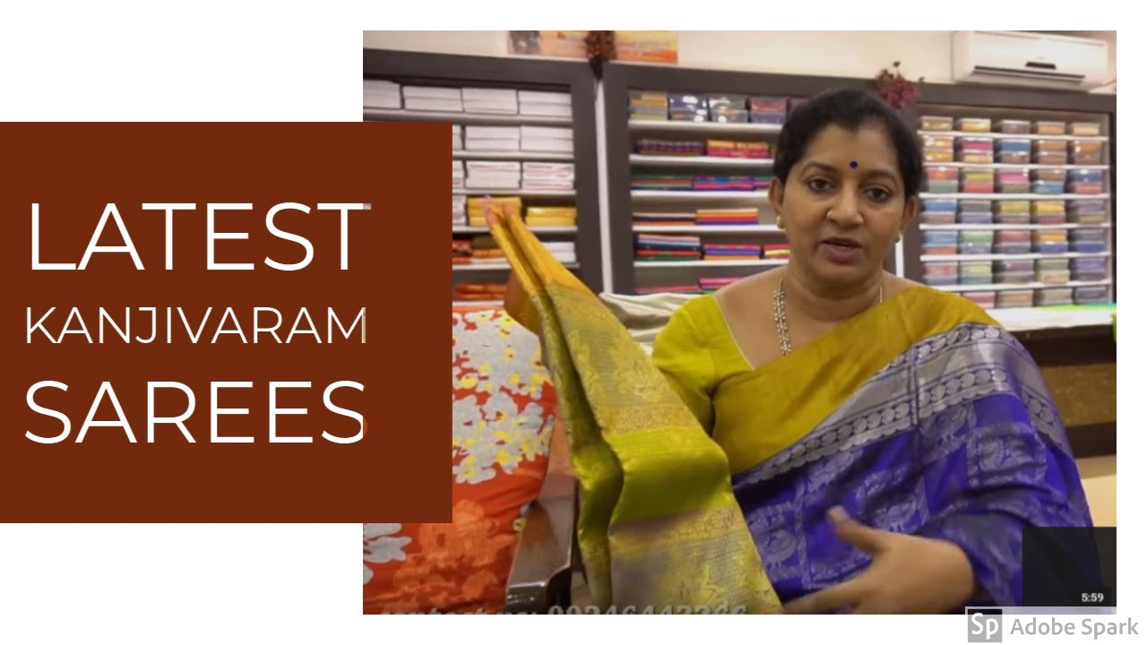 Latest Exclusive Kanjivaram Sarees Gayathri Reddy Traditional Designer Studio Sainikpuri Youtube