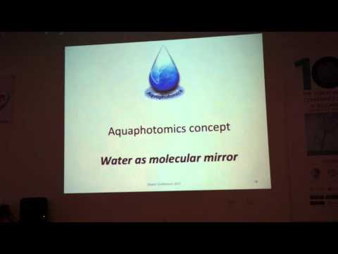 Roumiana Tsenkova - Conference on the Physics, Chemistry and Biology of Water 2015