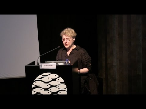 Martha Rosler – Lecture
