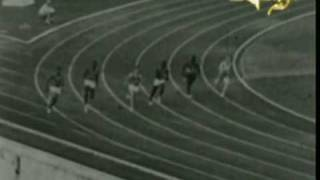 1960 Rome olympic unusual video of Livio Berruti