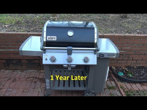 Weber Genesis Ii E 310 Propane Gas Grill With Igrill 3 1 Year Later