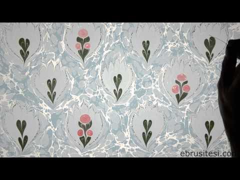 Ebru Sanatı - Kubilay Eralp Dinçer - Kır Çiçeği Ebrusu - 1080p