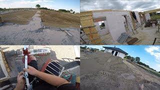 Aktualności z budowy #4 terivy ciąg dalszy, niwelacja terenu, anteny, prawko Darka ;)