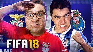 FIFA 18 GAMEPLAY   RIC vs DAIZER   BENFICA vs PORTO