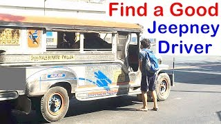 Pinoy SOCIAL EXPERIMENT: Find a Good Jeepney Driver