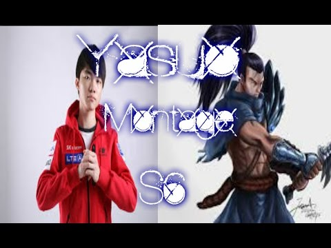 Yasuo Montage - kill me ? you can try ! - League Of legends [MisterBs]