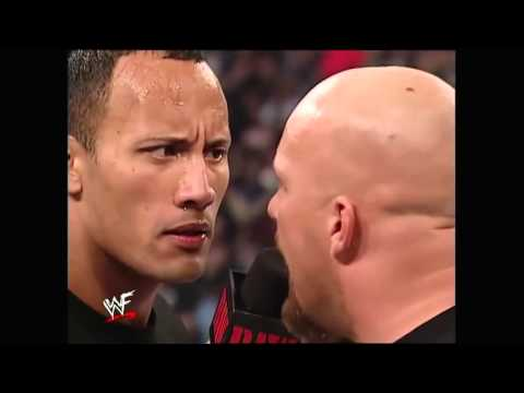 The Rock & Stone Cold Promo Before Survivor Series 12/11/01.