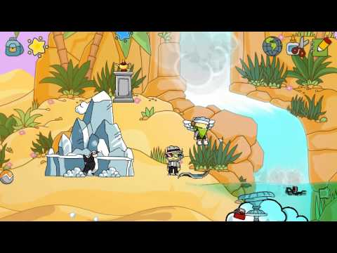 Scribblenauts Unlimited w/ Agrsn #37: Camelcase Oasis