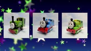 【カププラきかんしゃトーマス】スロットマシーン風ト―マス動画 Thomas and Friends Slot Machine l Capsule Plarail