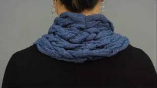#29 Braided Cowl, Vogue Knitting Holiday 2009