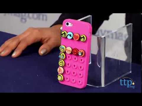 Emoji Icons iPhone 5 Case (Pink) from The Maya Group