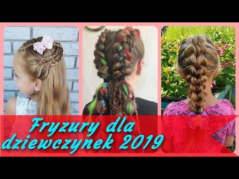 Top 20 Fajne Fryzury Dla Dziewczynek 2019 Youtube