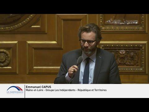 Emmanuel CAPUS : Débat sur les Conclusions du Rapport d'information sur le sauvetage en mer