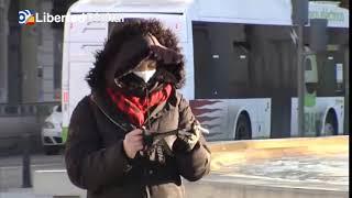 España registra las temperaturas más frías desde hace décadas llegando a los -25,4 grados