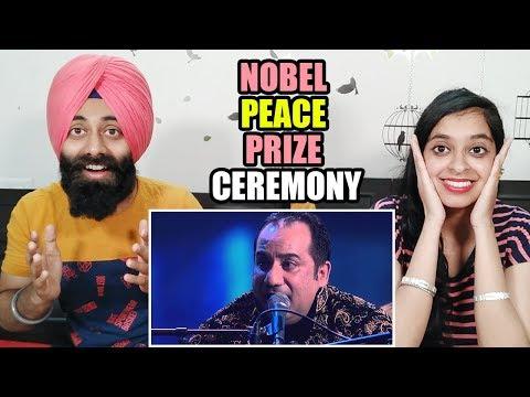 "Indian Shocking Reaction On Ustad Rahat Fateh Ali Khan ""Raag"" 2014 Nobel Peace Prize Concert"