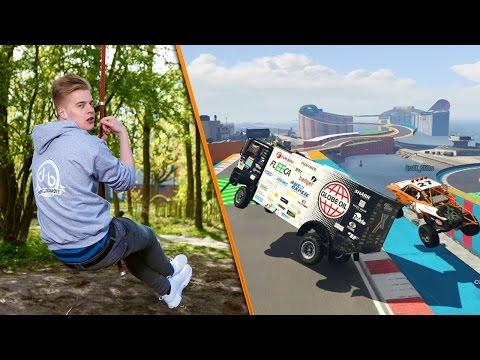 MATTHY WINT ZIJN EERSTE RACE & SLOOPT ZIJN CONTROLLER | GTA 5 MET DE BANKZITTERS #20