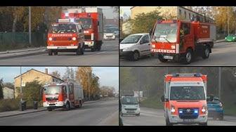 Jahresinspektionsübung der Feuerwehren aus Neustadt a.d. Weinstraße
