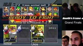 IH4 GF Isdsar vs Lkos (C.Falcon vs Fox) [Inath's House 4]