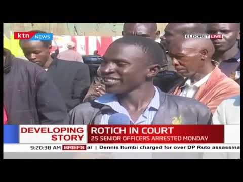 Eldoret resident  gives their views on the war against graft over the arrest of CS Rotich