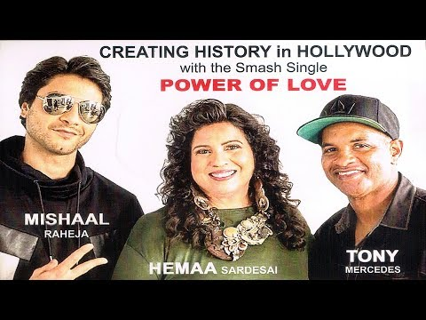 POWER OF LOVE- LAUNCH OF Ist HOLLYWOOD SONG