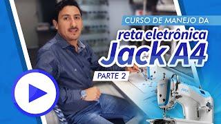 Curso de Manejo da Reta Jack A4 - Parte 2: Identificação, Finalidade e Regulagem dos Tensores