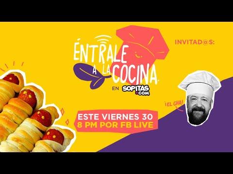 Entrale a la Cocina: Noche de Halloween botanas y tragos con Sopitas y Cha!