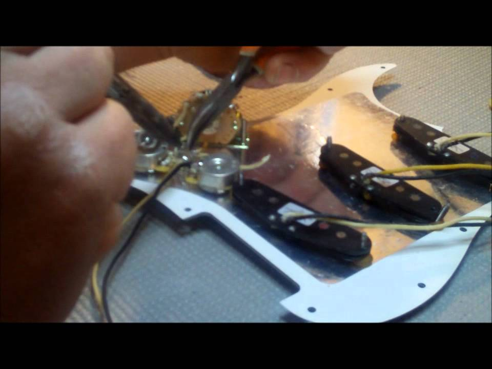 maxresdefault how to wire a stratocaster with blender youtube Stratocaster Wiring Diagram with 5-Way Switch at bayanpartner.co