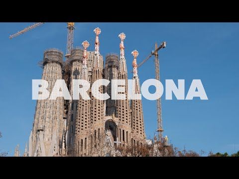 Driving through Barcelona 4k with original sound