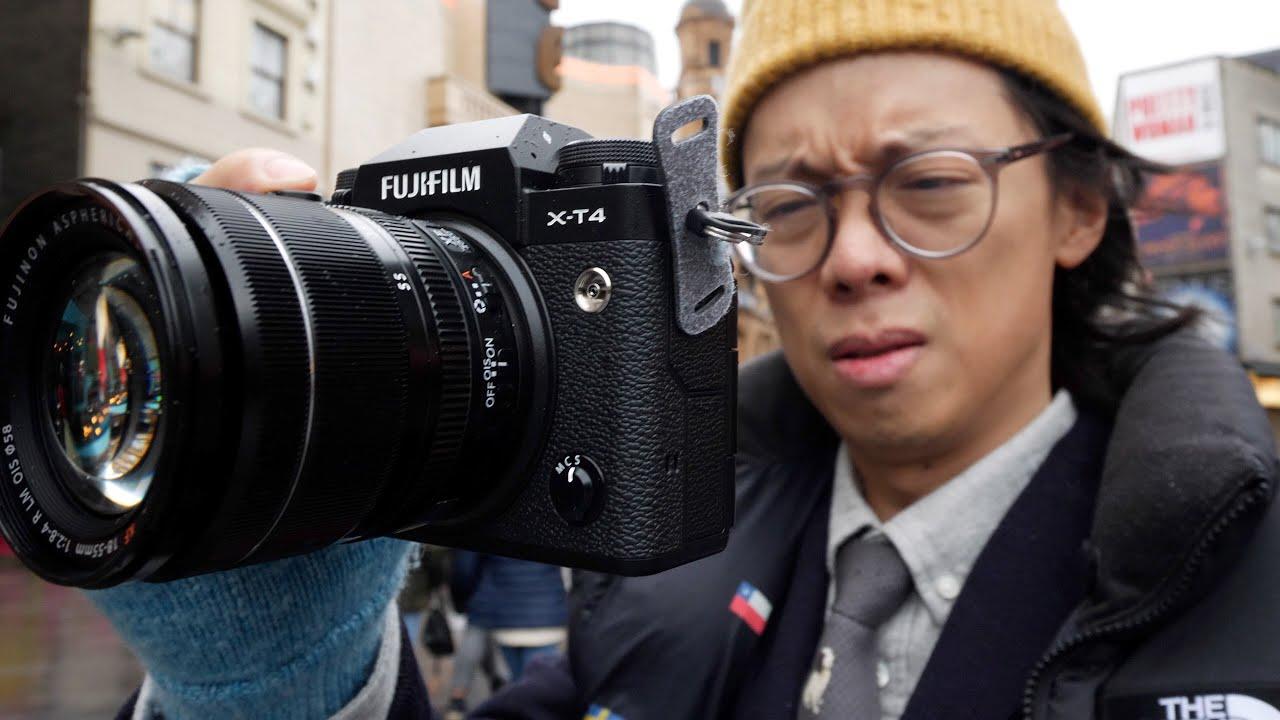 Fujifilm X-t4 Hands-on First Impression